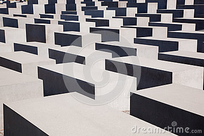 The Holocaust Memorial, Berlin Editorial Stock Image