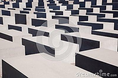 The Holocaust Memorial, Berlin Editorial Stock Image