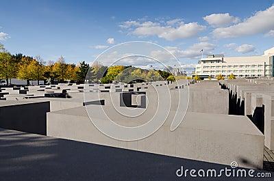 Holocaust Memorial Editorial Stock Image
