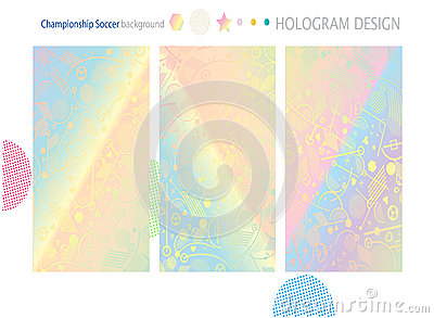 holographic will template - hologram wallpaper stock vector image 71930435