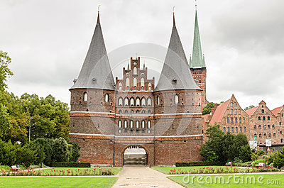 Holstentor. Lubeck