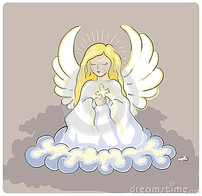 Free Holy Angel Royalty Free Stock Image - 56465606