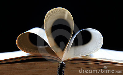 Holy book pages