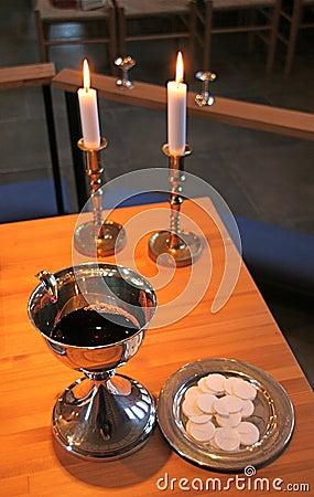 Free Holy Communion Stock Photography - 4137102