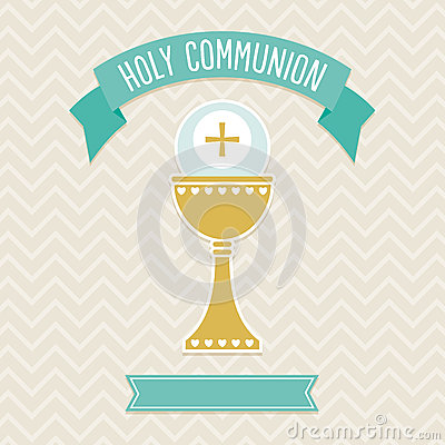 Free Holy Communion Card Template Stock Images - 36422604