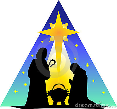 Free Holy Family Silhouette/eps Royalty Free Stock Photo - 2728935