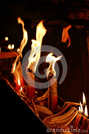 Free Holy Fire Jerusalem Royalty Free Stock Photography - 70749657