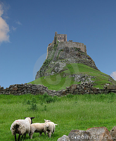 Holy Isle Lindisfarne, England