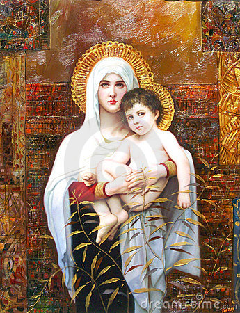 Holy Mary and Child