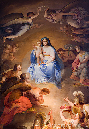 Holy Mary in the Heaven from Vienna