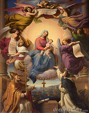 Free Holy Mary In The Heawen Stock Photos - 17527473