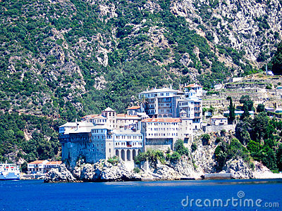 Holy monastery of Athos