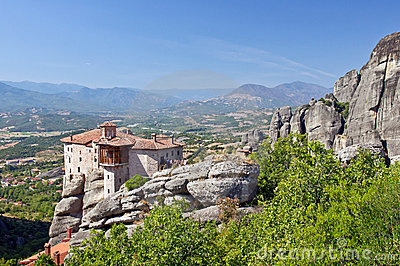 The Holy Monastery of Rousanou. Meteora.