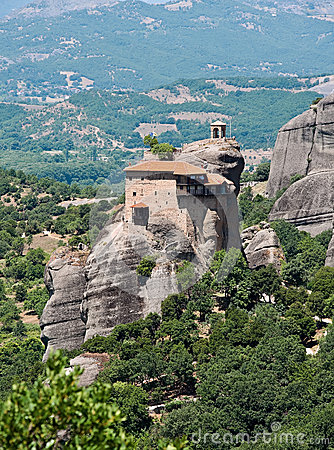 The Holy Monastery Of St. Nicholas Anapausas, Meteora ...