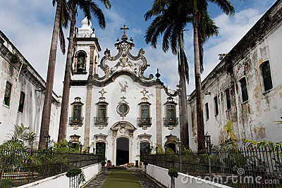 Holy Mother of Carmo Chapel Recife Brazil