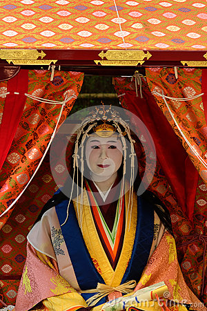 Free Holy Princess Saioh At Festival Saigu Parade, Kyoto Japan Stock Photos - 79948043