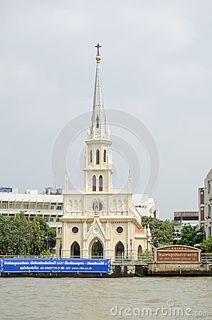 Holy Rosary Church, Bangkok Editorial Photo
