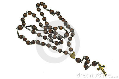 Holy Rosary with crucifix