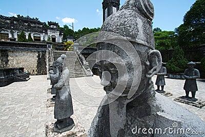 Holy statues - Samurai