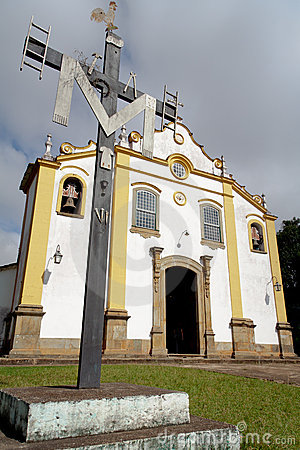 Holy Trinity Church in Tiradentes BrazilBrazil