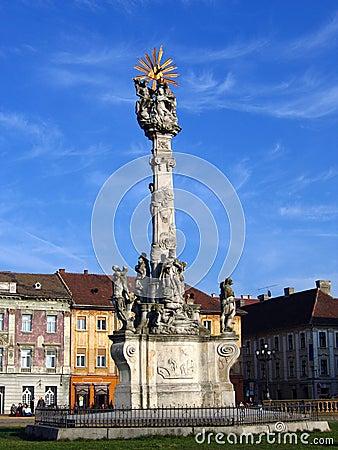 Free Holy Trinity Monument - Timisoara, Romania Stock Photo - 615590