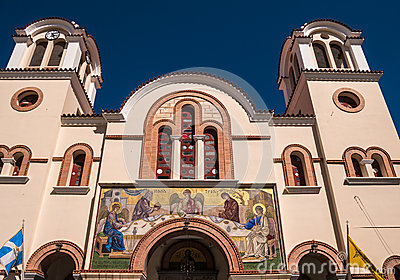 Holy Trinity Orthodox Church in Crete, Greece