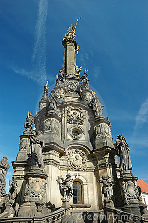 Holy Trinity(pestilential) Column in Olomouc