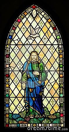 Holy Trinity Stained Glass Window