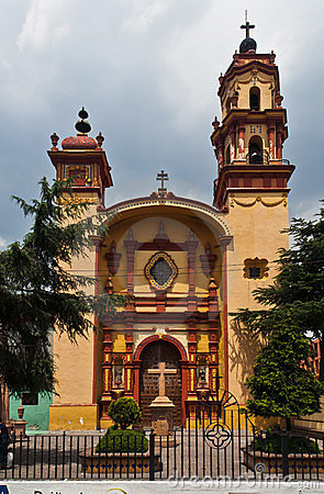 Holy Veracruz Church Toluca de Lerdo Mexico