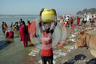 Holy Water Editorial Stock Image