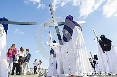 Holy Week en Seville Editorial Photo