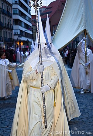 Holy Week in Valladolid Editorial Photography