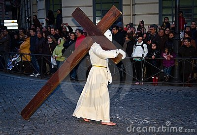 Holy Week in Valladolid Editorial Image