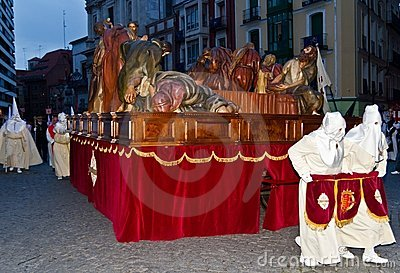 Holy Week in Valladolid Editorial Photo