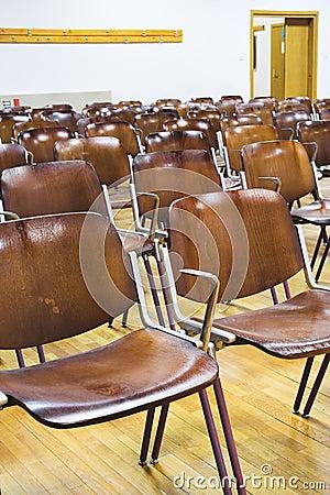 Holyday time, school classroom