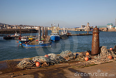 Holyhead harbour