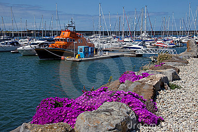 Holyhead Marina and harbour