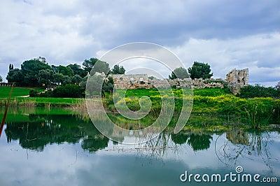 Holyland Series -Afek National Park panorama#2