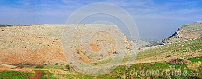 Holyland series-Mt. Arbel panorama