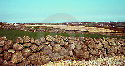 Holywood Ireland północne kamienne ściany