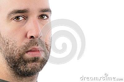 Hombre barbudo