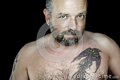 Hombre con la barba