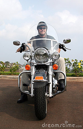 Hombre de la motocicleta