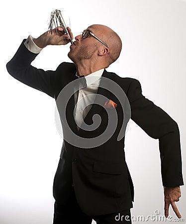 Hombre de la trompeta