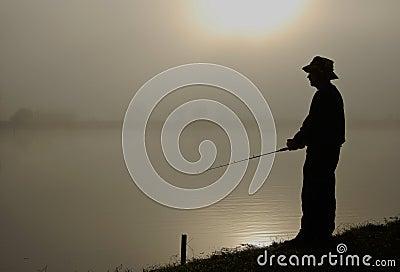 Hombre de los pescados