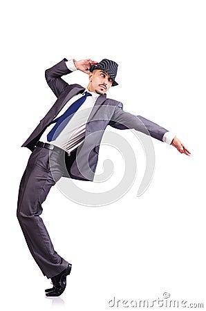 Hombre de negocios del baile