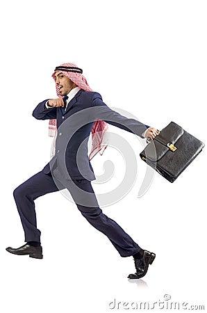 Hombre de negocios árabe