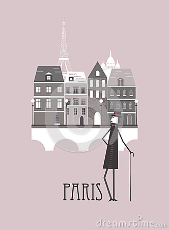 Hombre en París