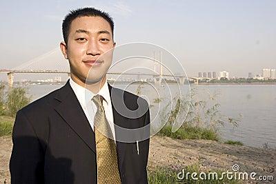 Hombre joven chino