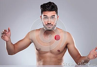 Hombre desnudo pic joven